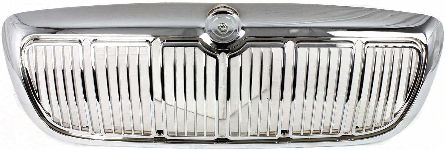 In stock BAP for Grand Washington Mall Marquis 98-02 Grille Shell an Chrome ABS Plastic
