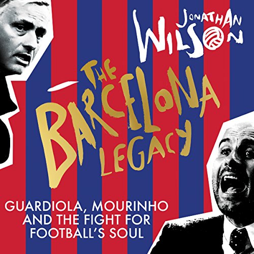 The Barcelona Legacy audiobook cover art