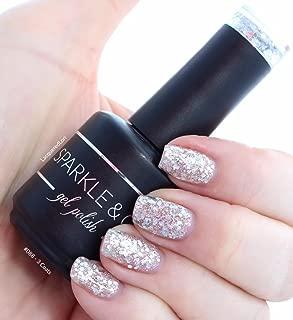 Sparkle & Co. Soak Off Gel Polish – 088: Silver Glitzy Sparkle