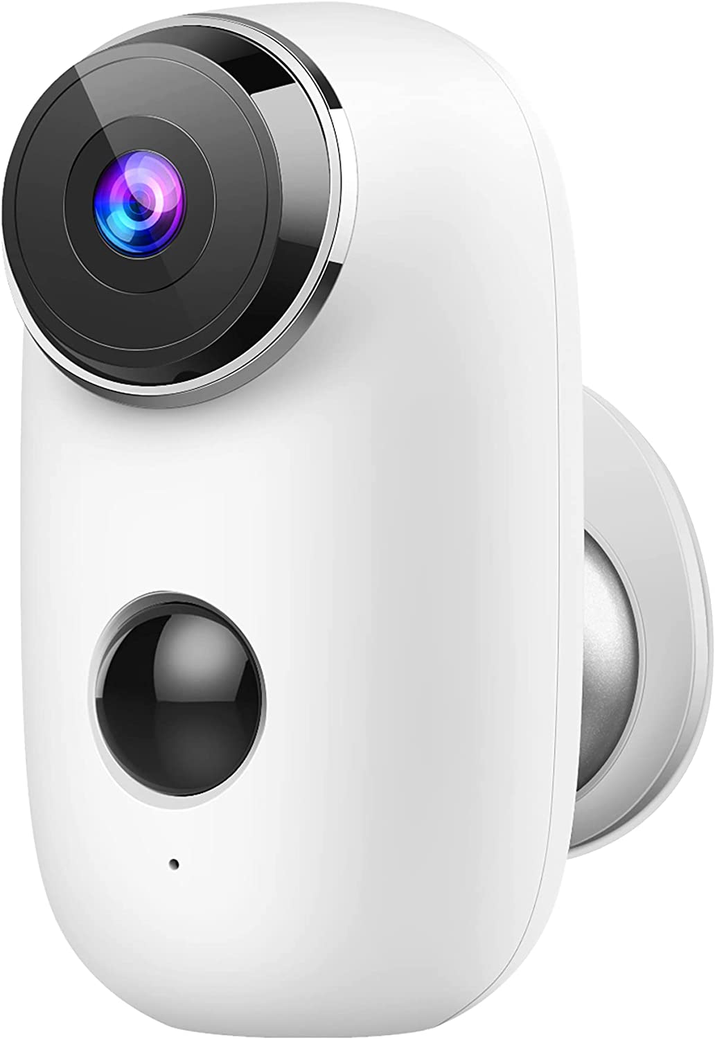 Security Camera Outdoor, 1080P Battery-Powered Camera with Night Vision, Waterproof Home Security Camera for Indoor/Outdoor