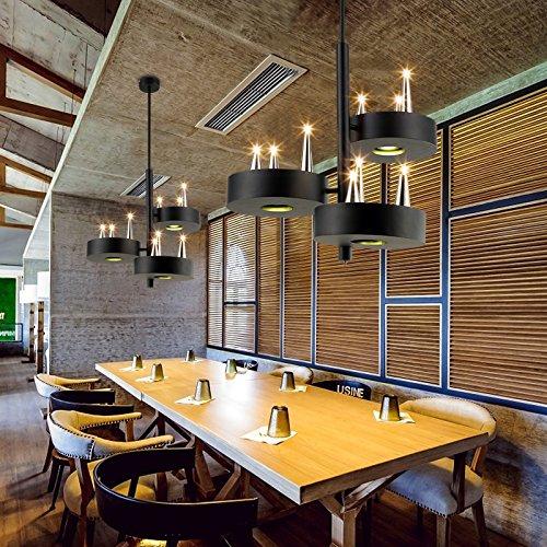 Quietness @ Ciondolo illuminazione LED moderno lampadario industrie creative Loft lampadario per sala da pranzo Camera da letto Soggiorno magazzino b
