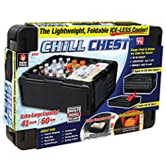 Holds up to 60 cans and keeps them cold for up to 10 hours Temperature Lock Technology traps the cold inside Keeps cold foods cold and hot foods hot Strong enough to hold over 100 times its weight and weighs less than two pounds Easy to take with you...