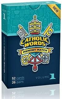 Catholic Words Memory Match Vol 1