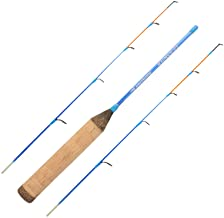 KastKing Konvert Twin Tip Ice Rods, Includes Handle Section and 2 Different Action Tips – M/ML, Easy to See Strike Tips, 2 Different Models – Glass or Graphite & Travel/Storage Case