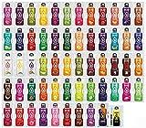 Bolero Getränkepulver Mixbox mit ALLEN 58 Sorten + Sportnahrung Wehle Shaker 750ml I zuckerfreies Getränkepulver mit Stevia gesüßt I Mixbox zum Testen aller Geschmäcker (9g je Beutel)