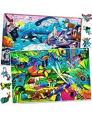 Quokka Kids Toys Puzzles pour garçons et Filles de 8 à 10 Ans - 60 pièces Puzzles pour Enfants de 5 à 8 Ans - Insectes et Insectes Animaux Jeux éducatifs Amusants pour Les Enfants de 8 à 12 Ans