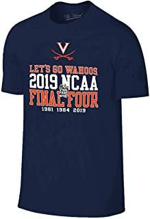 Campus Colors Virginia Cavaliers Adult 2019 March Madness Final Four Team T-Shirt - Navy,