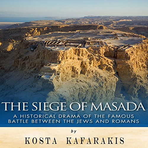 The Siege of Masada audiobook cover art