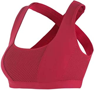 Sexy Cross Sports Bra Women Push Up Shockproof Vest Yoga Tops with Padding for Running Gym Fitness Jogging Yoga Shirt Clot...