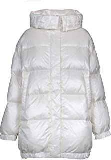 ADD Luxury Fashion Womens WAW2241115 White Down Jacket | Fall Winter 19