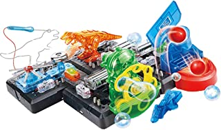 Flameer DIY Electronics Blocks Set Physics Discovery & Learn 125-in-1 Kits