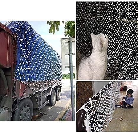 3x3FT Que Cuelga del Techo Puente De Cuerda De Nylon Decorativo Infantil Red Seguro For Ni/ños Size : 1x1M Red de Protecci/ón For Swing Set