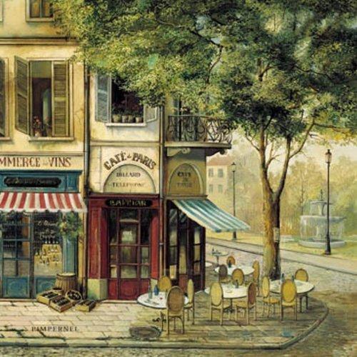 Parisian Scenes Untersetzer 6 Stück (s)