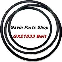 Gavin parts shop GX21833 Lawn Mower Belt Replaces John Deere GX20571 D150 D160 L120 L130 145 155 fits Stens 265-238