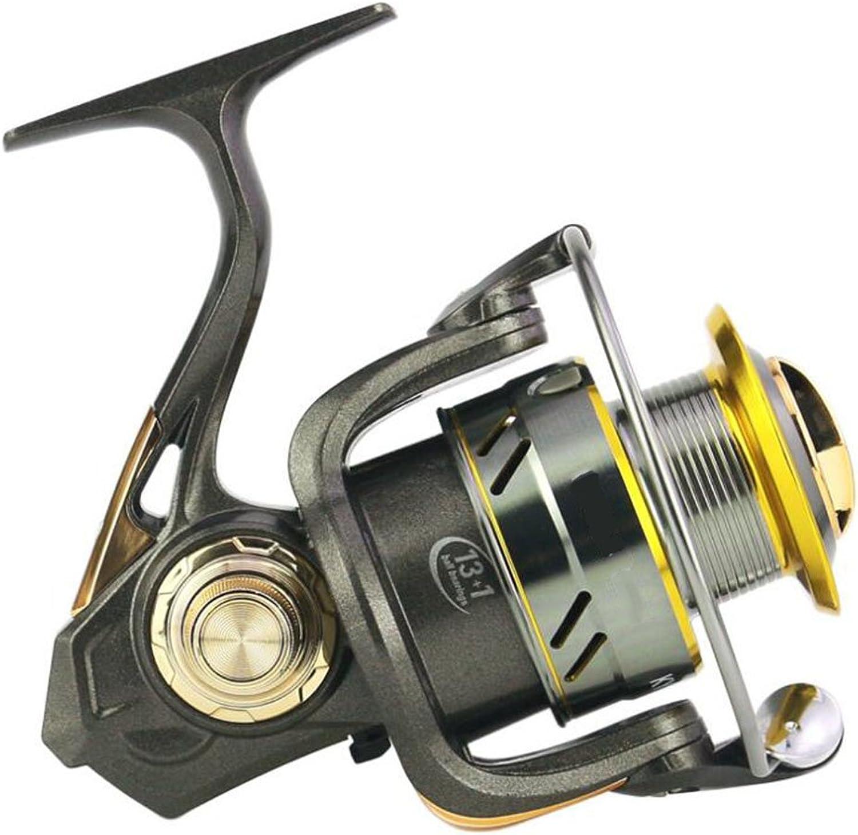 Fishing Reel 13+1 Bearing Without Gap, High Speed 6.3 1, 20007000, Metal Material,2000