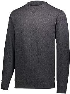 Joe's USA Mens Athletic Fleece Crewneck Sweatshirt in Sizes XS-5XL