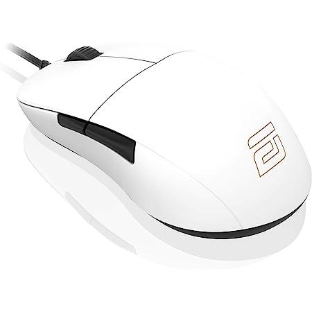 ENDGAME GEAR XM1r ゲーミングマウス PAW3370センサー 50 -19,000 CPI 5ボタン GM8.0スイッチ ホワイト EGG-XM1R-WHT