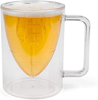 BigMouth Inc. Bottoms Up! Football Beer Mug