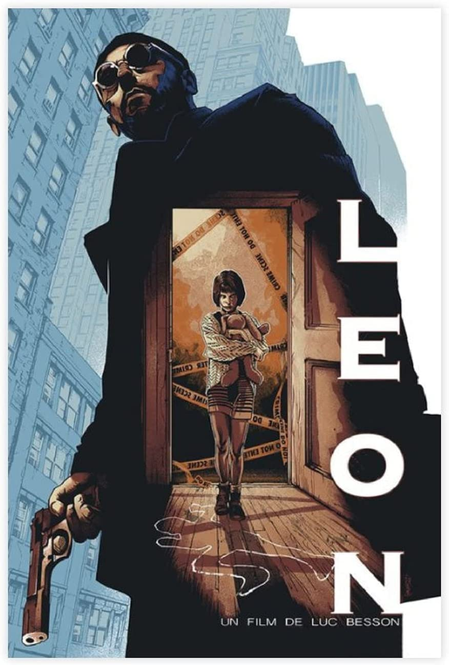 Nostalgic Denver Mall Classic Old Movie Leon Cover Poster 7 Professional The latest