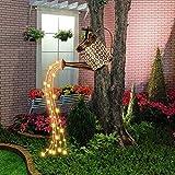 Star Shower Garden Art LED-Licht, Solar Gießkanne Fairy Garden Light, Duschlicht Duschbewässerung kann Lichterkette Gartendekoration Licht Gießkanne Fairy Lights Vine Solar Gießkanne Lichter