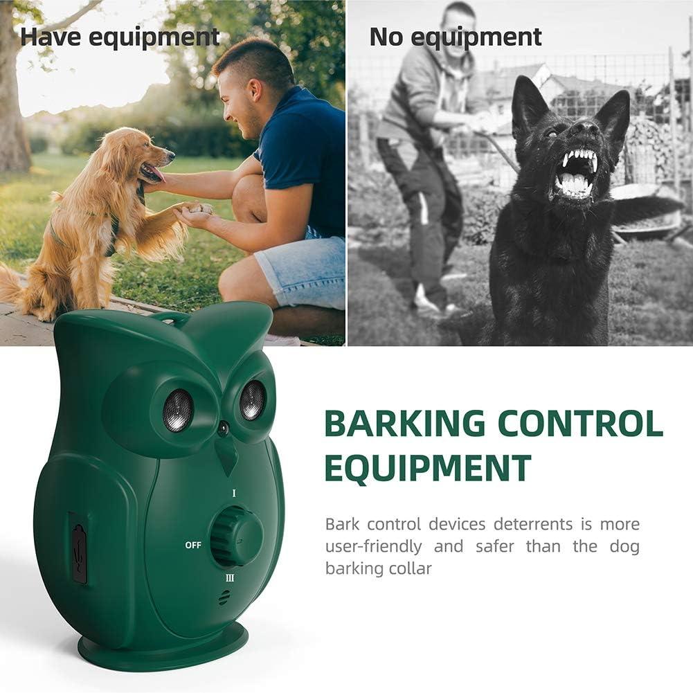Anti Barking Device with 3 Adjustable Ultrasonic Volume Levels ...