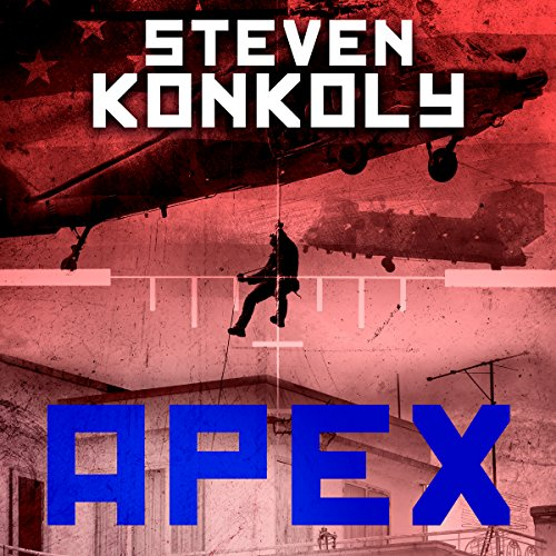 Black Flagged Apex audiobook cover art