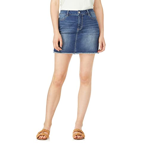 90d1ed99d7c7 WallFlower Women's Juniors Denim Skirt