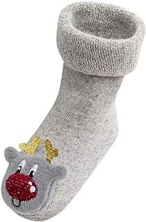 SO-buts baby accessories, SO-buts Recién Nacido Pequeño Bebés Niños Niñas Navidad Ciervo De Santa Antideslizante Calcetines De Punto Calcetines De Piso Calcetines Algodón Moda