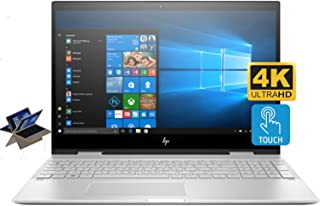 HP Envy X360 15t Convertible 2-in-1 Premium Home and Business Laptop (Intel 8th Gen i7-8550U, 8GB RAM, 2TB HDD + 1TB PCIe SSD, 15.6