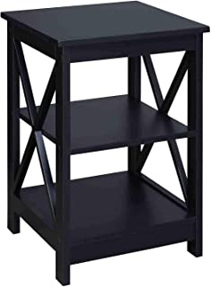 black wood side tables