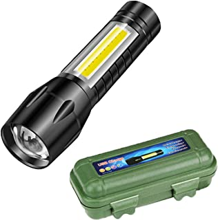 Care 4 Tactical Flashlight + Desk Lamp with Gift Box Focus Zoom Torch Light with 3 Modes Adjustable for Emergency and Acti...