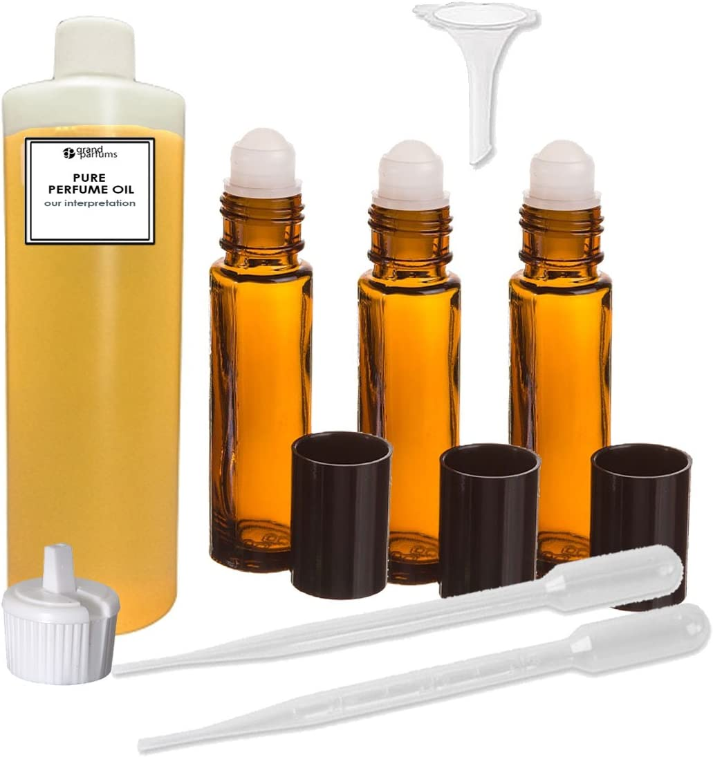 Grand Parfums Perfume Oil Set - Type 世界の人気ブランド Our 正規品 Red Inter Polo Intense