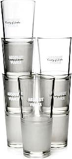 Absolut Vodka Longdrink Tumbler Glaeser Frozen 6 Stück
