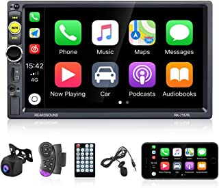 Universal Double Din Car Stereo 7 Inch Touch Screen D-Play Car Radio with Bluetooth FM Radio Receiver Car Multimedia Playe... photo