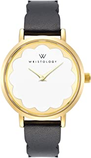 WRISTOLOGY Charlotte Scallop Womens Watch Gold