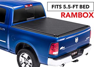 TruXedo Lo Pro Soft Roll-up Truck Bed Tonneau Cover | 544901 | fits 09-18 Ram 1500 w/RamBox 5'7