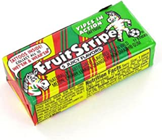 Fruit Stripe Gum, 1.8 Ounce Pack (Pack of 12)
