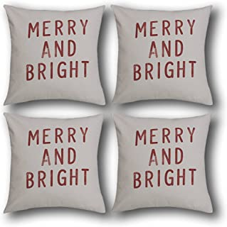 Livingtex Throws Pillow Decorative Cushion Covers, Soft Decorative Square Throw Pillow Covers Cushion Case for Sofa Bedroo...