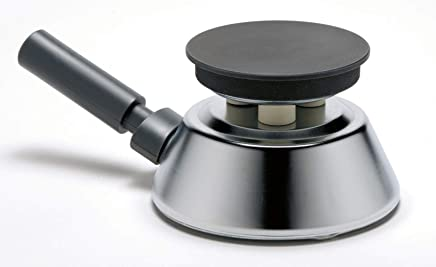 Ardes AR035 Fornello Cico in Acciaio Cromato con Piastra da 100 mm