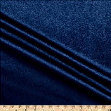 Ben Textiles Royal Velvet Fabric, Navy, Fabric By The Yard