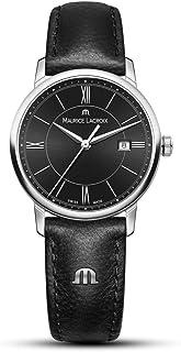 Maurice Lacroix - Reloj Analógico para Mujer de Cuarzo con Correa en Cuero EL1094-SS001-310-1