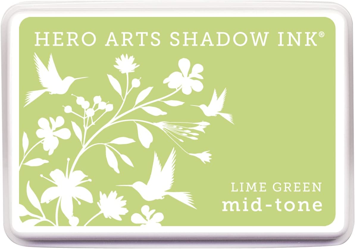 New sales Hero Arts Mid-Tone Shadow Ink 40% OFF Cheap Sale Pad Green Lime