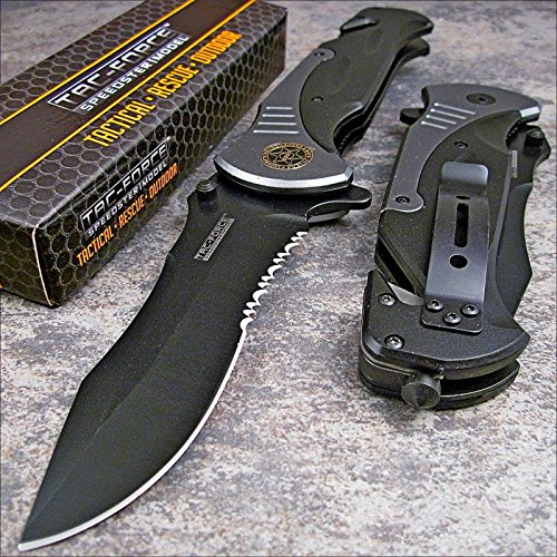 Tac-force Extra Large Spring Assisted Folding Pocket Knife Review