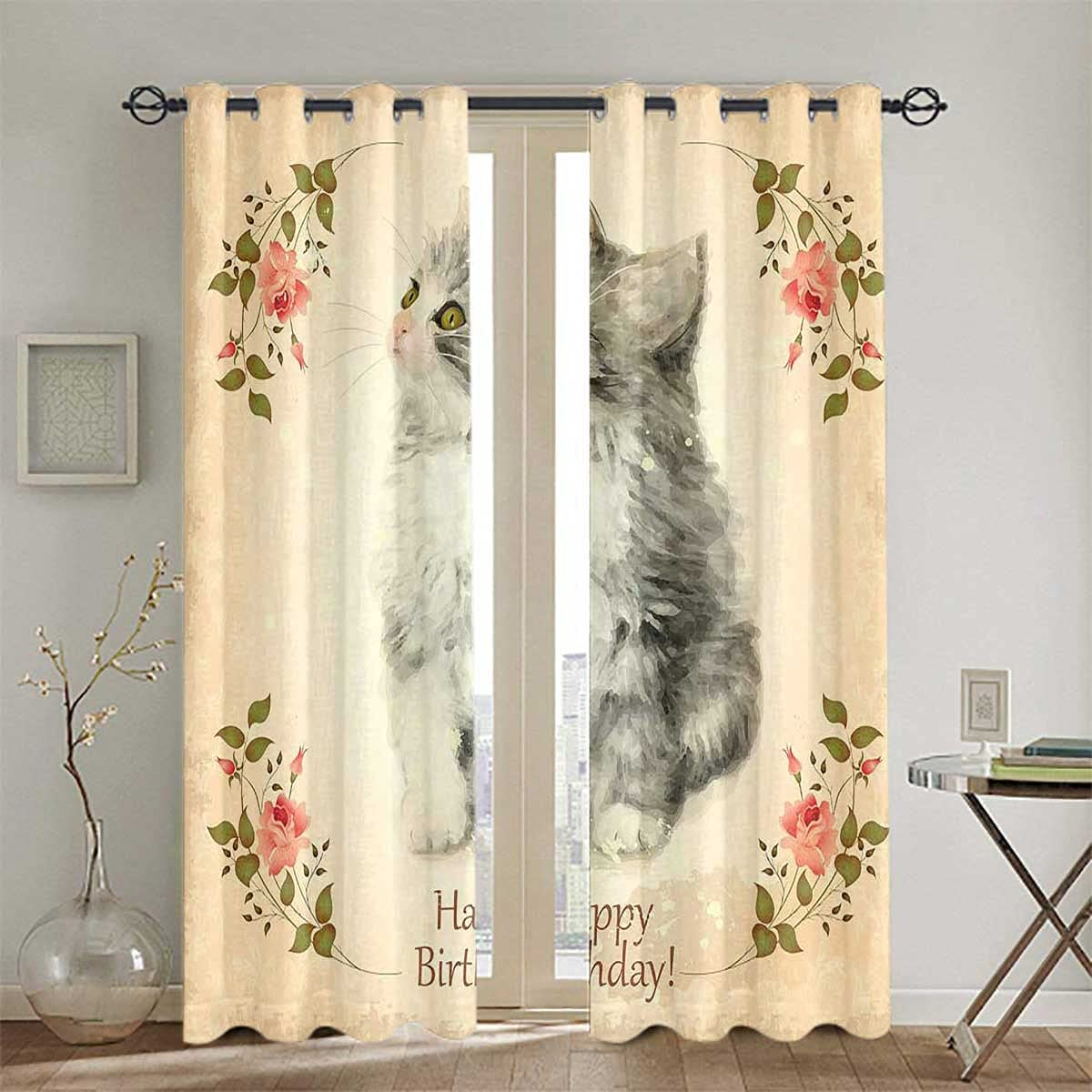 Thermal Ranking TOP4 Popular brand Insulated Grommet Curtains for Bedroom Room Living Greet
