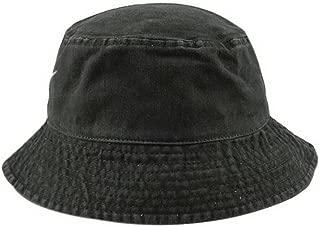 Unisex Short Brim Cotton Basin Hat Summer Travel Visor Fisherman Hat, Dark Green