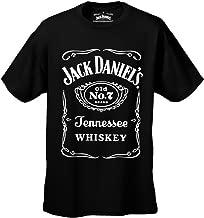 Jack Daniel's Official Classic Label Logo Men's T-Shirt