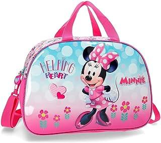 Disney Minnie Heart 旅行袋 40 厘米 24.64 粉色(玫瑰色)