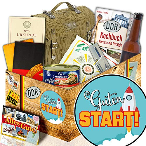 Guten Start / NVA Geschenkset / guten Start am neuen Arbeitsplatz / DDR Paket