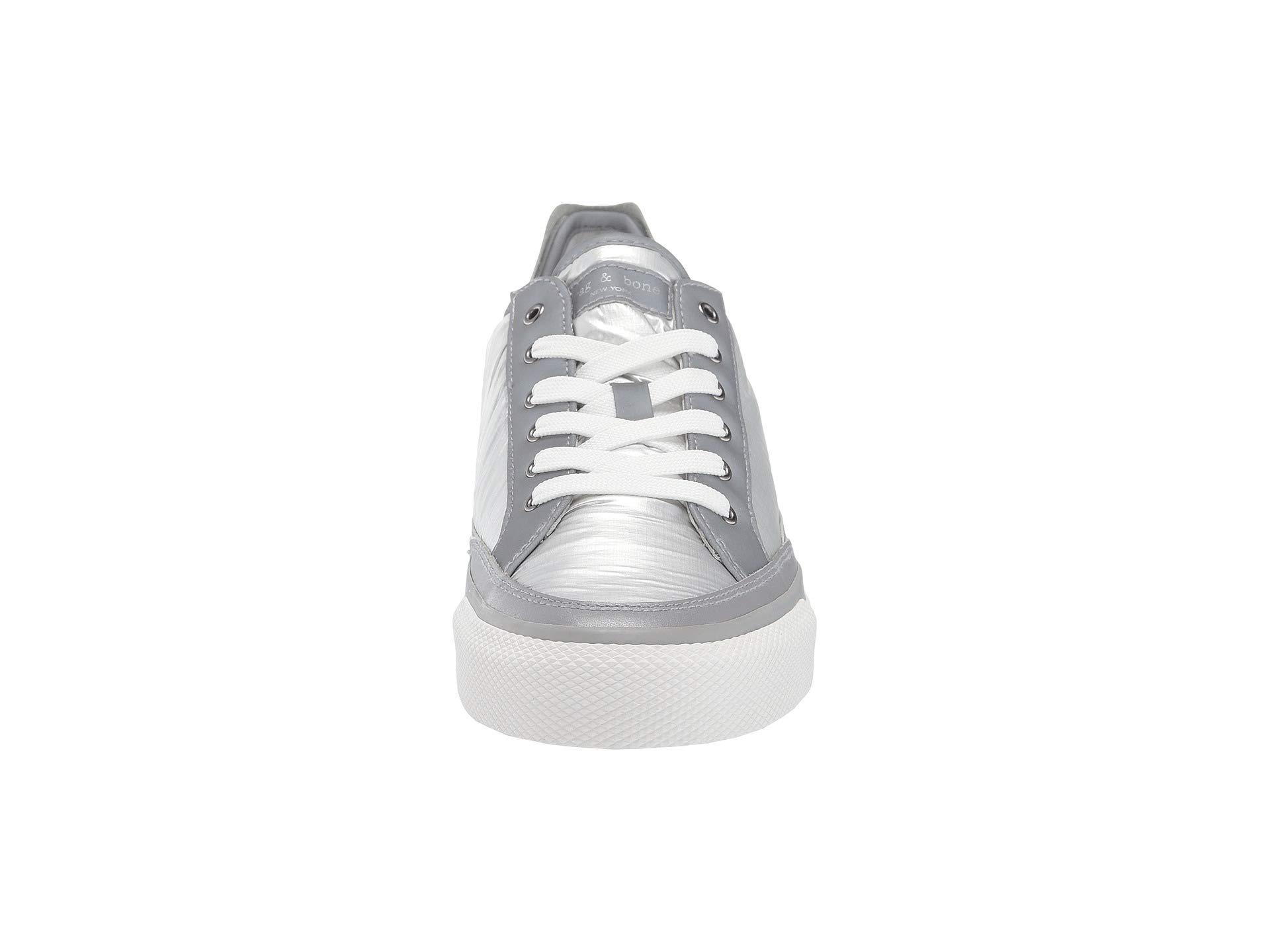 Nylon Sneaker Low Silver Bone Top Rag amp; Army Rb 68xqwnzBF