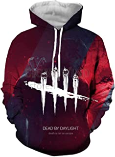 Game Dead by Daylight Hoodies Unisex Sweatshirts 3D Print Harajuku Tops